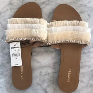 Pretty fringe sandals